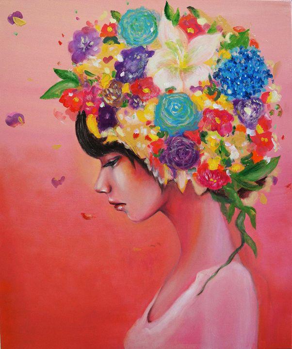 Flower head - Eury Kim