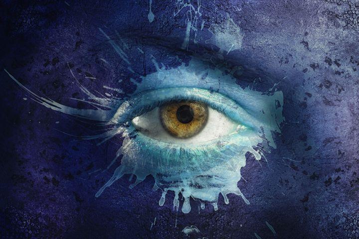 Painted gaze - Teodor Lazarev