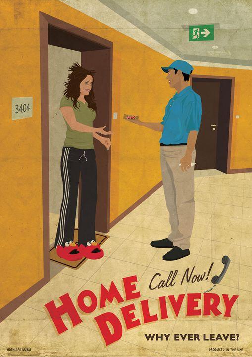 """""""Home Delivery"""" - Highlife Dubai"""