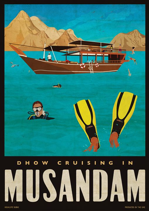 """Dhow Cruising"" - Highlife Dubai"