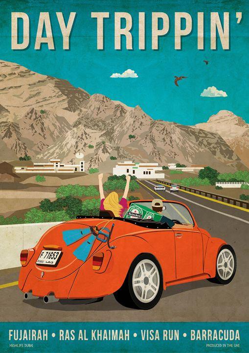 """""""Day Trippin"""" - Highlife Dubai"""