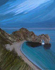 Evening At Durdle Door