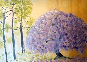 Shining Wisteria Tree - Eliza Donovan