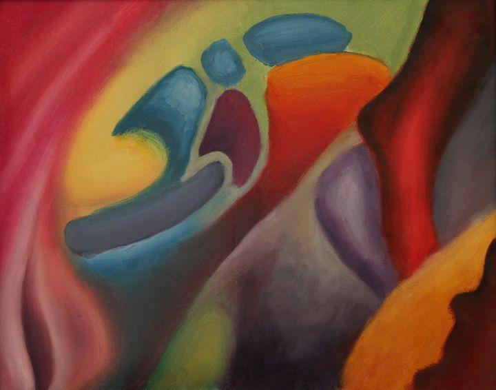 Improv In Color 2 - Michael Farmer