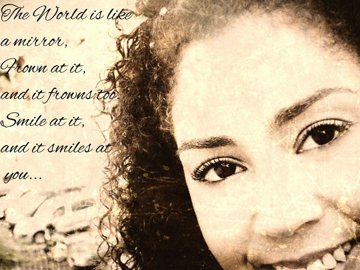 Just Smile - Sephia