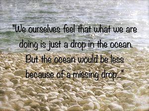 Just drops...