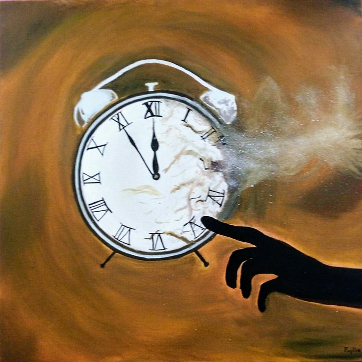 No one can control Time - Incredible art
