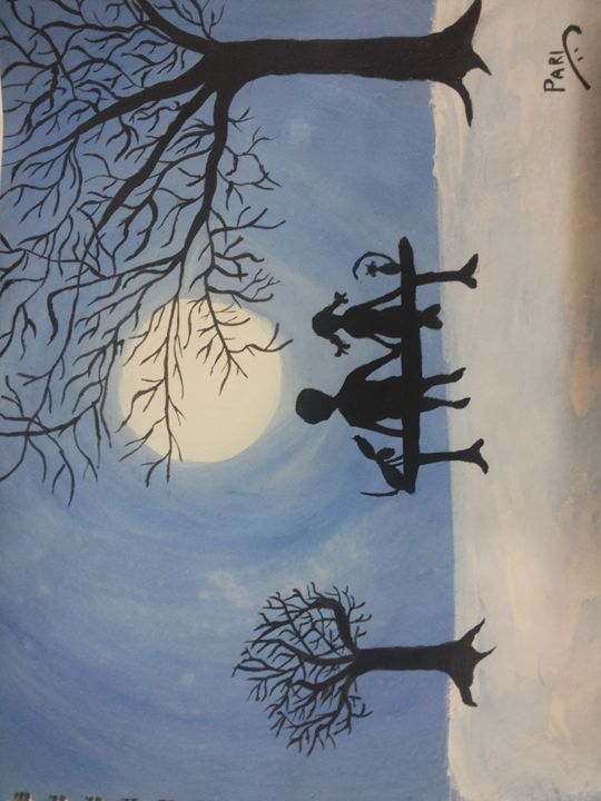 Happy night - Pari's painting