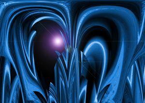 Blue Space Plant