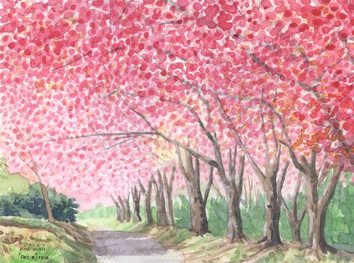 Wild himalayan cherry III - Surasak Pumrak
