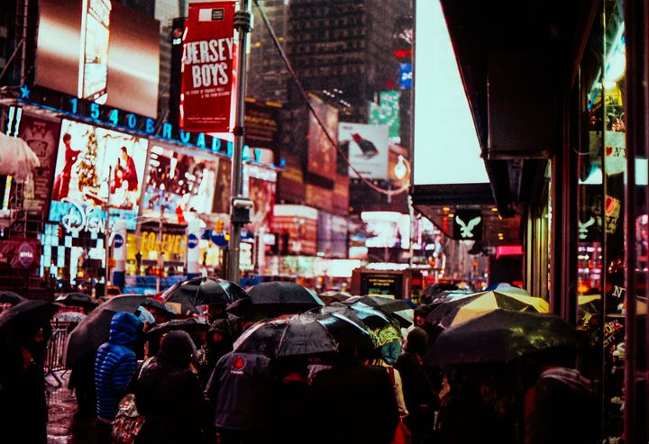 Glistening Times Square - Jay Kim Photography