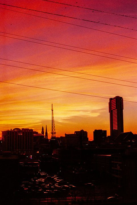 Sunset Skyline - Jay Kim Photography