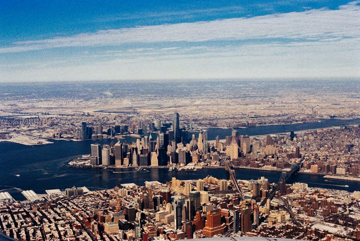 Manhattan from the Sky - Jay Kim Photography