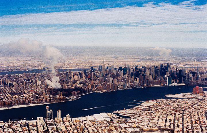 Manhattan from the Sky - Jay Kim Photography