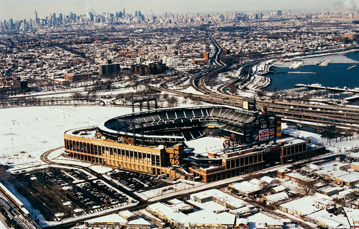 Citi Field from the Air - Jay Kim Photography