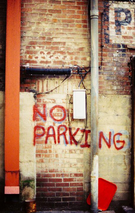 No Parking - Jay Kim Photography