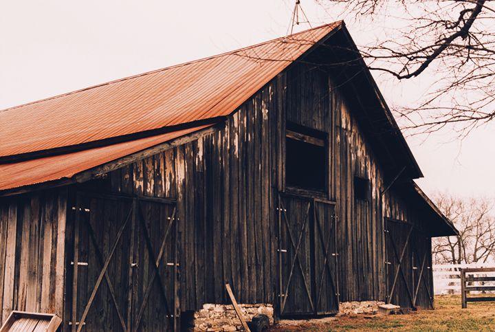 Autumn Barn - Jay Kim Photography