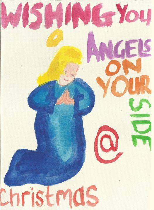 Angels On Your Side at Christmas - Gaynor Paynter