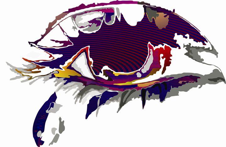 Abstract Art - Teardrop - Stojanovska Emilija