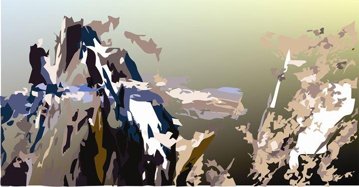Abstract Art - On the Top - Stojanovska Emilija