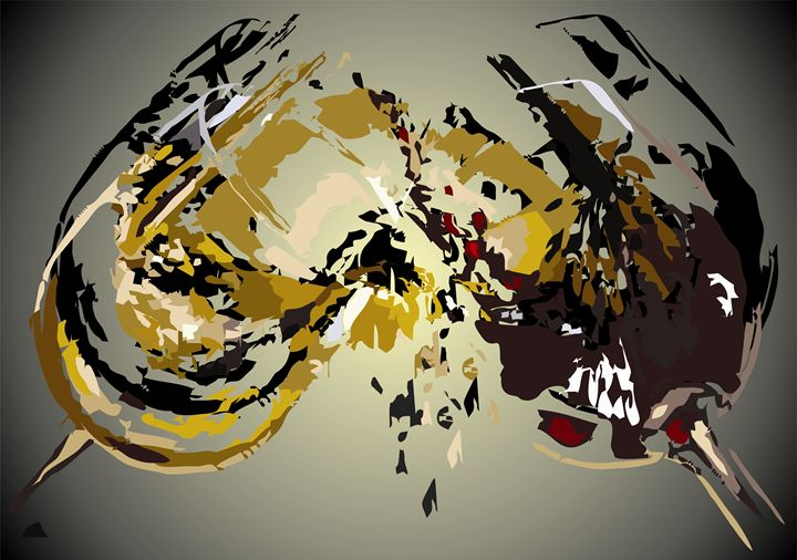 Abstract Art- Toast - Stojanovska Emilija