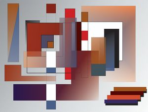 Red Rectangles-ArtDecoEmma