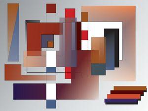 Red Rectangles-ArtDecoEmma