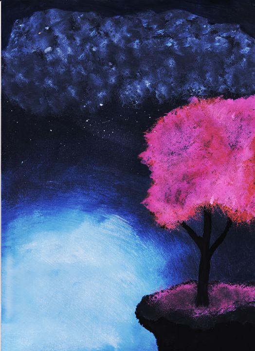 ILLUMINATED BLOSSOMS - Jay M. Rousseau