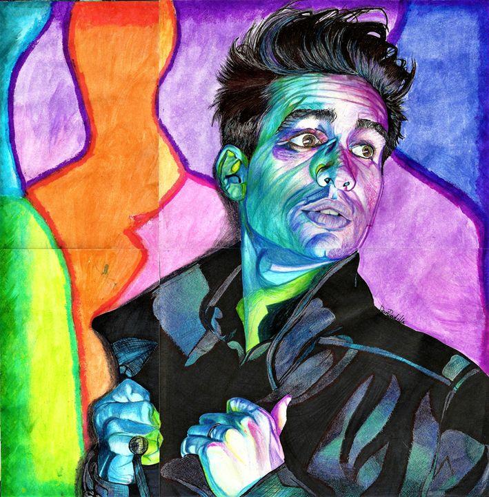 Psychedelic Brendon - DARIEN RACHELLE ART