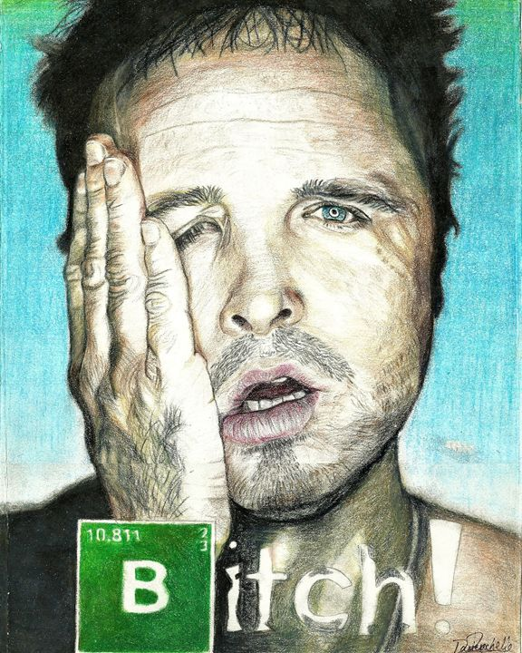 Pinkman, Bitch! - DARIEN RACHELLE ART
