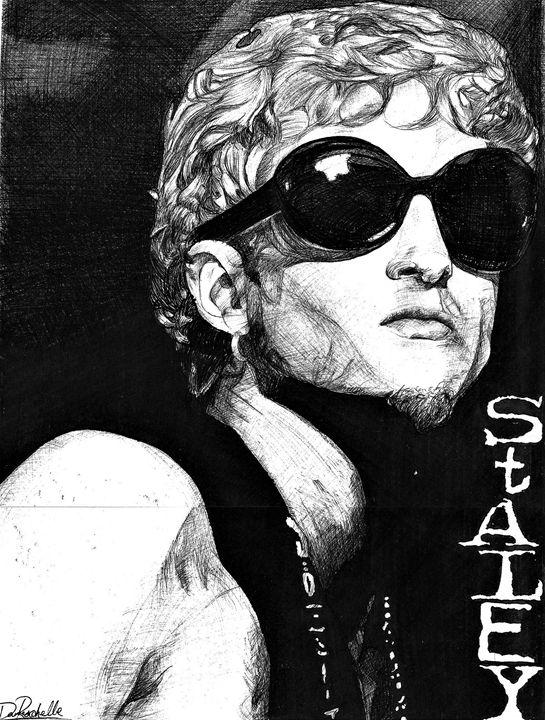 Layne Staley - DARIEN RACHELLE ART