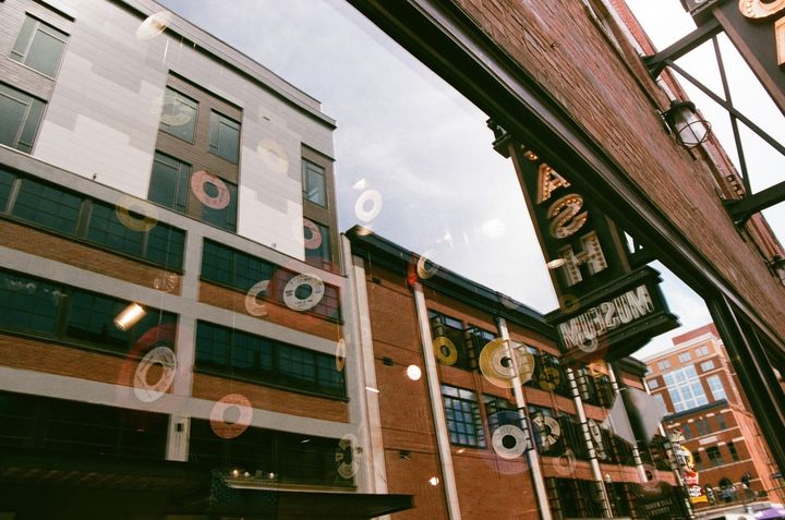 Record Store Window - Chloe Delainey Media