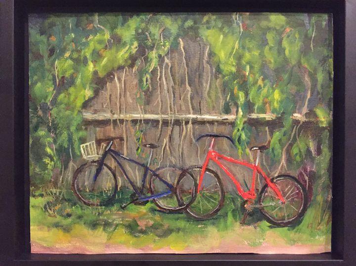 Boatyard Bikes - Beach Waves Gallery, Gwen Heusel