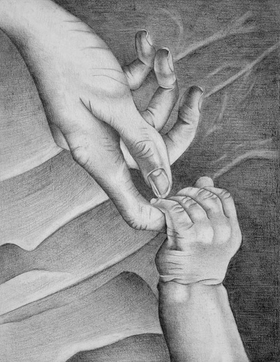 Mother's touch - Paintings