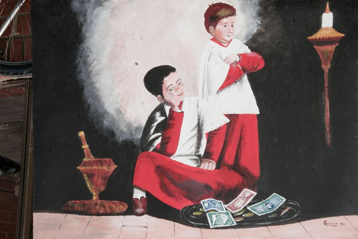 Altar boys - Genoveva Francés