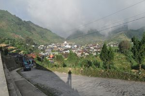 Village near Dieng Plateu