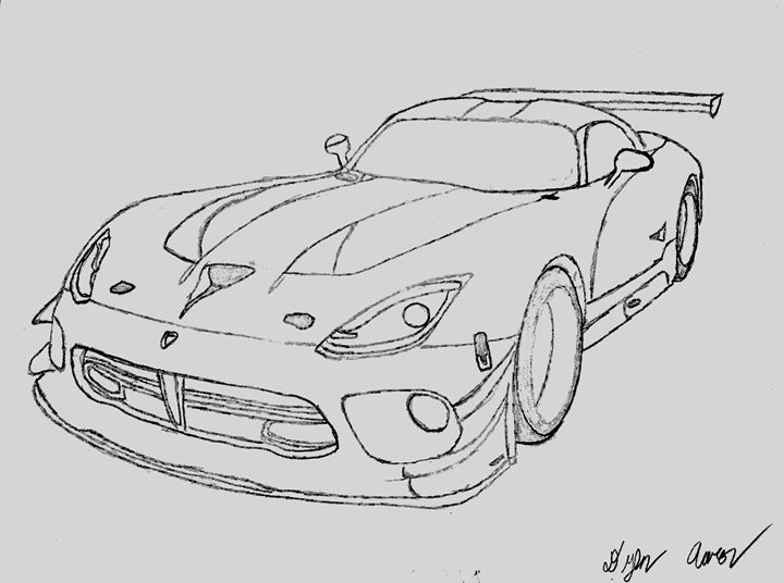 Viper GT3 - Imperious Design