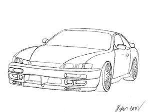 Nissan Silvia S14 - Imperious Design