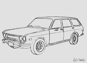 Datsun 510 Wagon - Imperious Design
