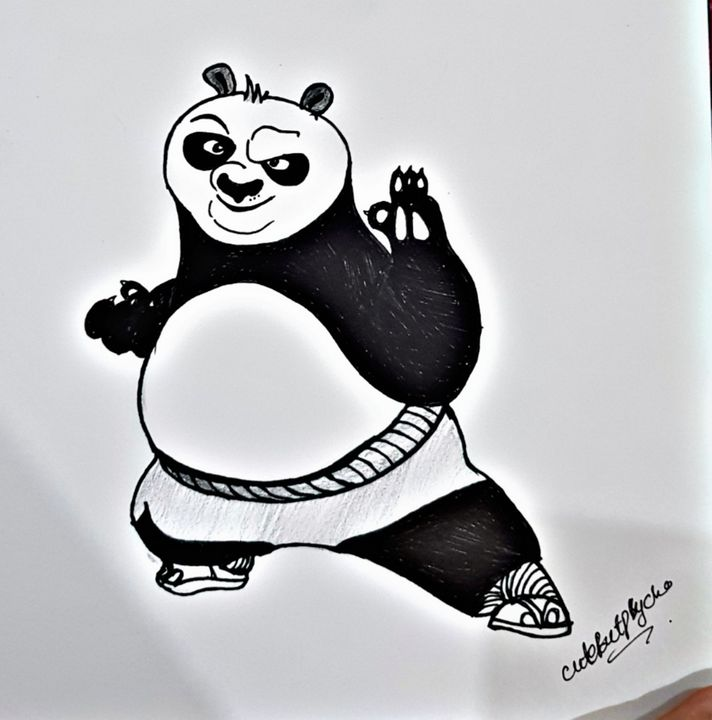 Kung fu panda - CuteButPsycho