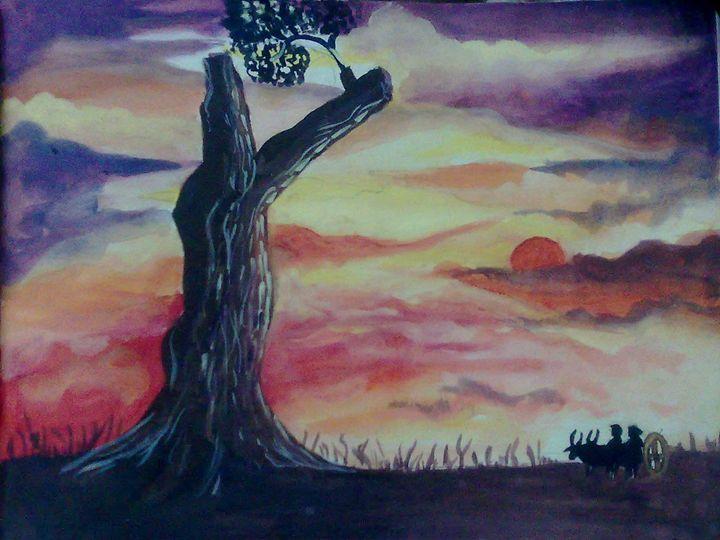 sunset - Kavitha Creatives