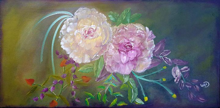 Wild roses - Leah Dennis Art