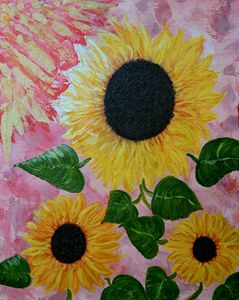 Sunflowers for Adiya