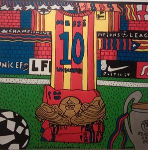 Messi Barcelona - zecchinofineart