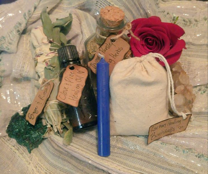 Healing Herbal Kit - Lil Fairie Market