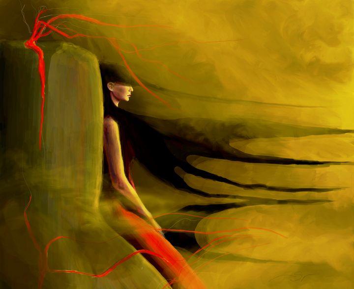 Sulphur Desert - Maja Sipilovic Art