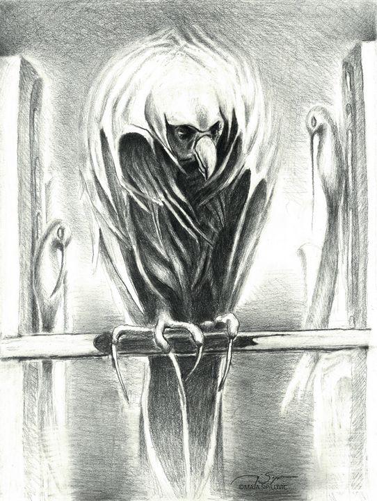 Last Prey - Maja Sipilovic Art