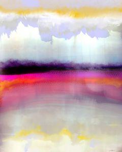 Pink Silver - Maja Sipilovic Art