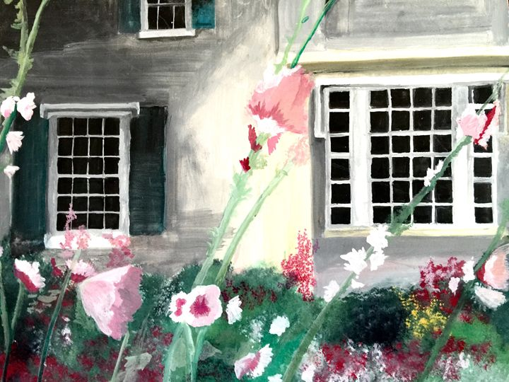 The flowers at the house - Caren G