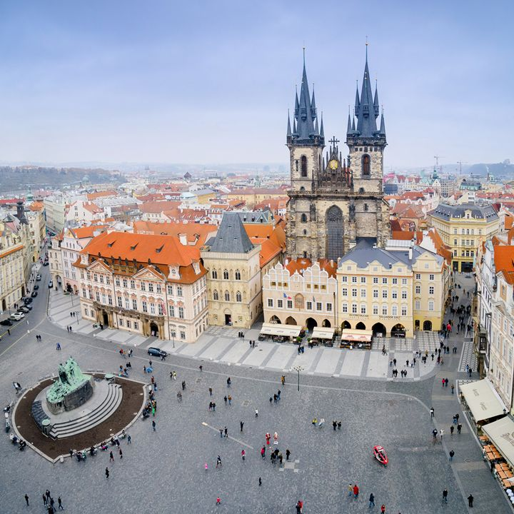 Old Town Square, Prague, Czech Repub - Photo